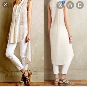 🌷Anthropologie high low tunic